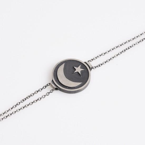 Ay Yıldız Bileklik